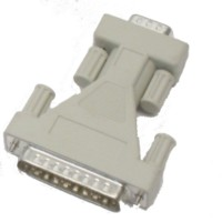 Adaptor- 9-pin serial to 25 pin serial male-to-male