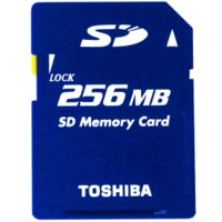 Toshiba Secure Digital Card 256MB