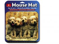 HandStands Designer Image Puppies Mouse Pad