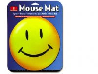 HandStands Designer Image Happy Face Mouse Pad