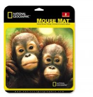 HandStands National Geographic Chimp Mouse Pad