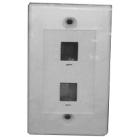 Network - Wall plate RJ45