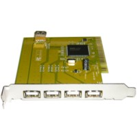 USB PCI Adaptor version2.0, NEC chipset, 4+1 ports