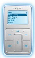 Creative Zen Micro MP3 Player 6GB Silver