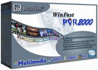 Leadtek WinFast PVR2000 FM / TV Tuner / Recorder with Remote