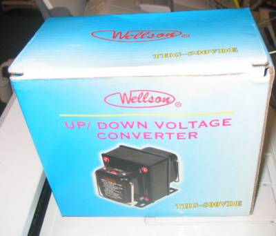 Wellson Up/Down Voltage Converter 500W