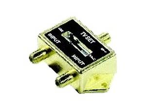 Holland GHS-2FR 2-WAY TV Cable SPLITTER