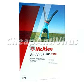 Mcafee Anti-Virus 2010 1pc