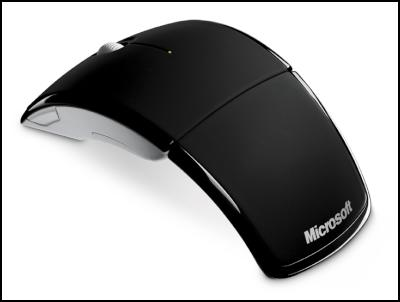 Microsoft Wireless ARC Laser Red Mouse