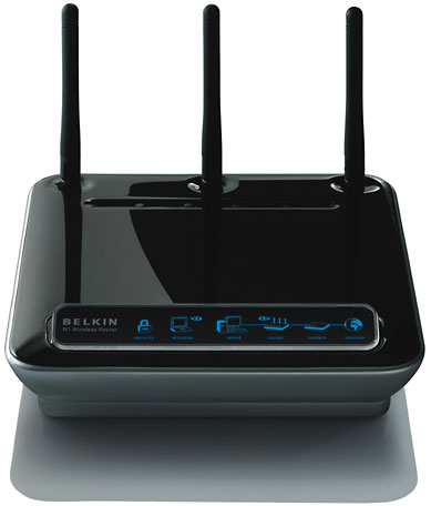 BELKIN N WIRELESS 300Mbps 4-P0RT ROUTER