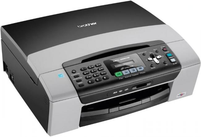 BROTHER MULTIFUNCTION MFC255CW INKJET PRINTER